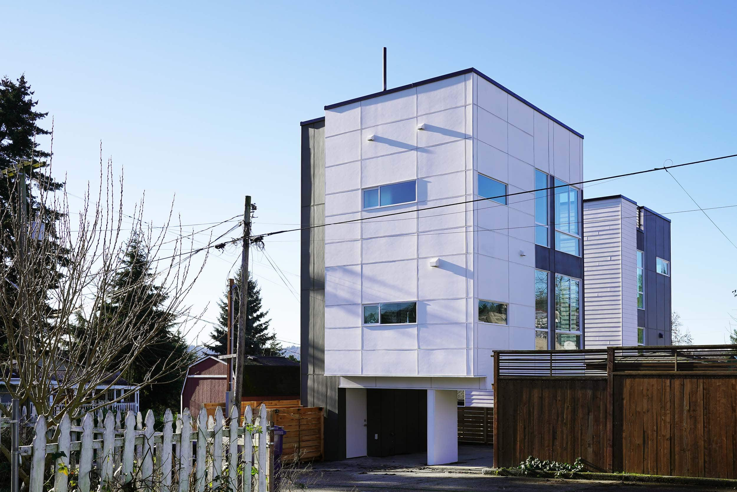 Custom design and construction of an eight micro unit row house located at 3855 21st Ave SW Seattle, WA 98106. Each unit is 600 square feet and was completed in October, 2018.