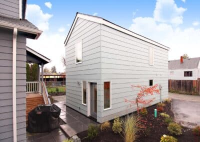 Seattle DADU Backyard Cottage built by New Image Construction Management