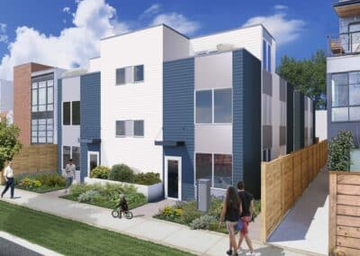 Townhomes located at 537 S Sullivan St, Seattle, WA 98108