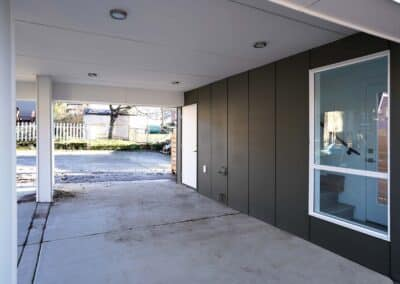 Unit B Exterior - Newly construction SFR located at 5838 16th Ave Seattle, WA 98108