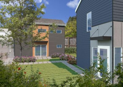 New construction of a DADU unit with an AADU unit located at 2518 NE 140th St Seattle, WA 98125