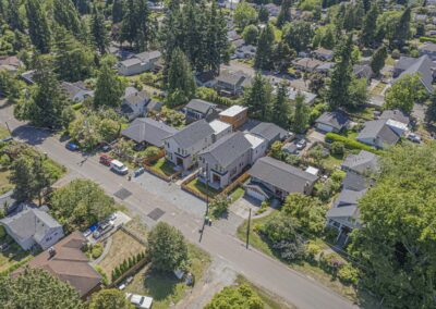 New Home Construction Seattle - Single Family Residence located at 10217 40th Ave SW, Seattle WA 98146