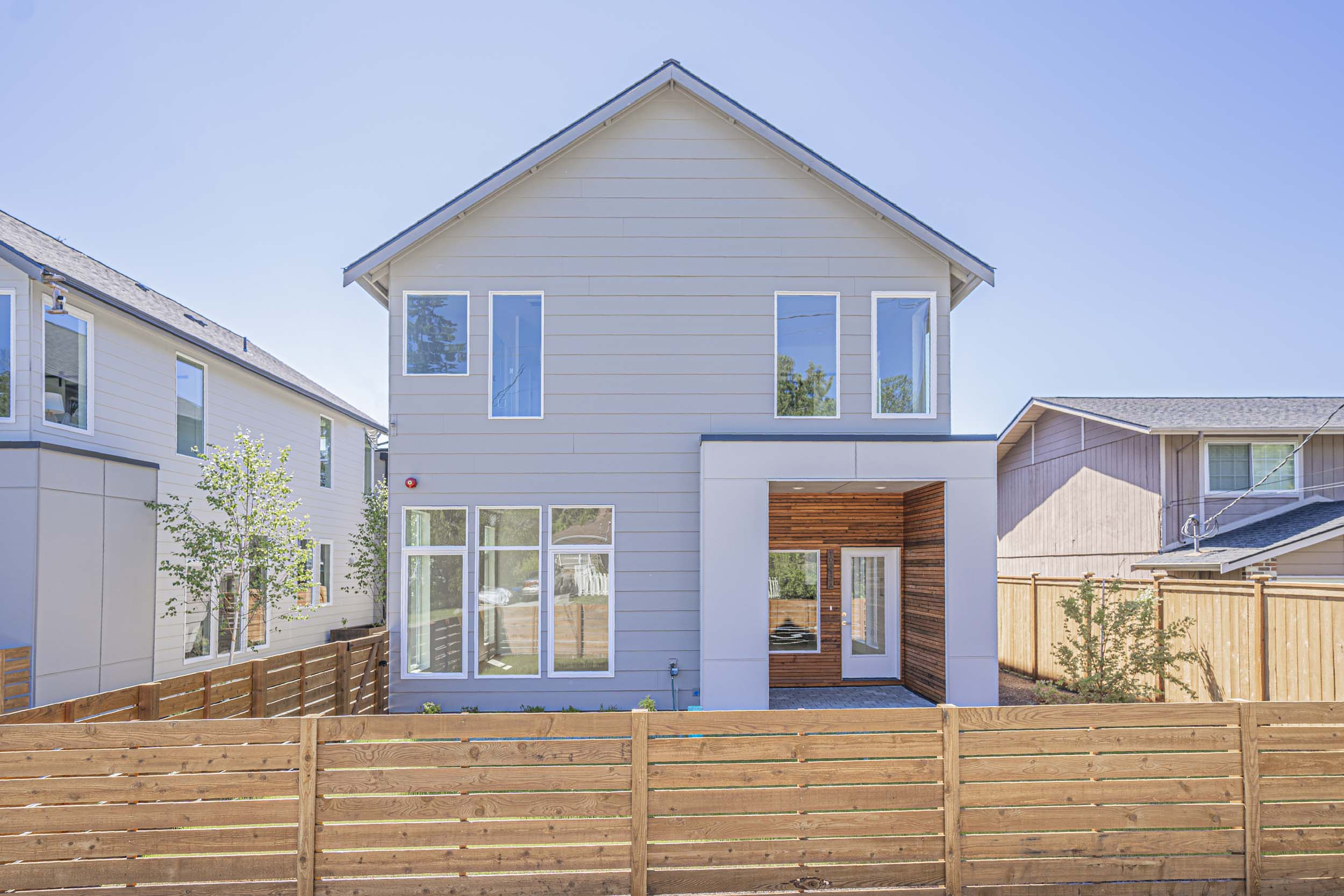 Seattle new home construction located at 10213 40th Ave SW, Seattle WA 98146