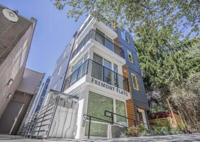 Design & construction of Fremont Flats by Seattle Residential Developers