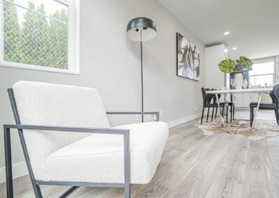 Interior view of The Cottages at Greenlake by New Home Builder Seattle: New Image Construction Management