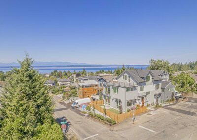 Aerial photos of SFR located at 12505 8th Ave NW, Seattle, WA 98177